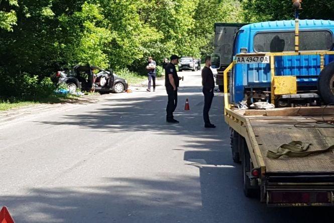 Смертельна ДТП біля Стадниці: «лоб у лоб» зіткнулися легковик та вантажівка