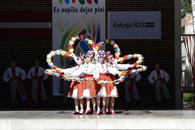 Вінницька «Радість» вражала на міжнародному танцювальному фестивалі у Прибалтиці