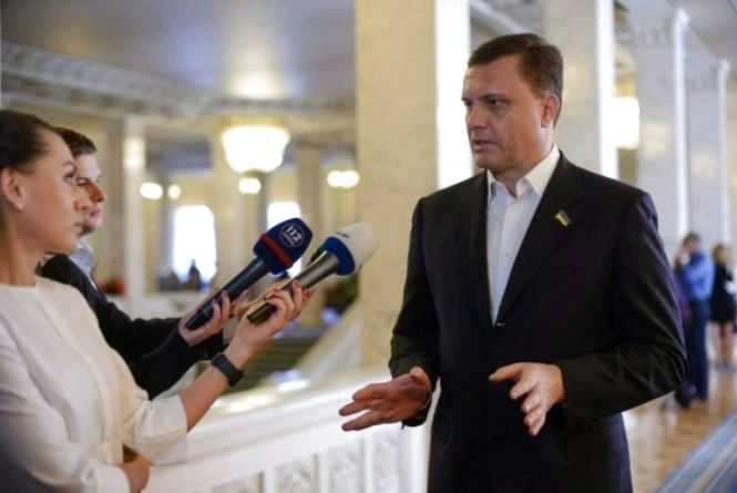 В случае избрания президентом, Бойко сможет быстро обеспечить мир, - Левочкин (Пресс-служба партии «Оппозиционный блок»)
