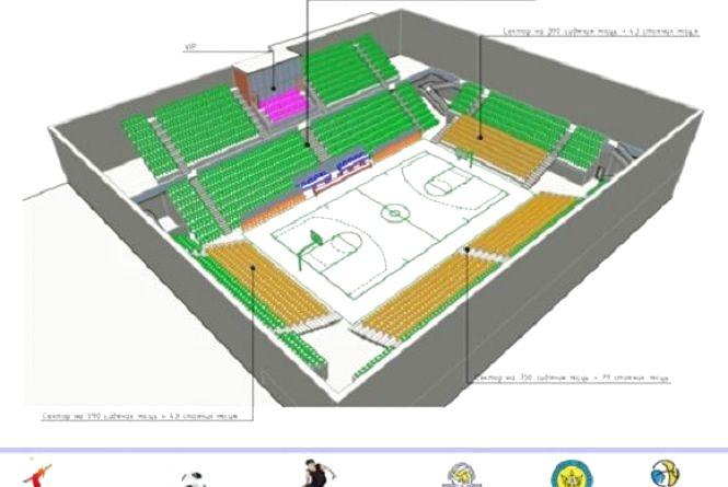 На Ватутіна планують збудувати багатофункціональний Палац спорту