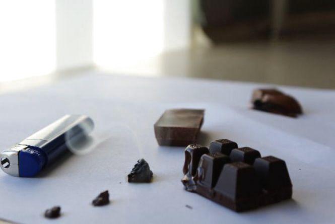 Шоколад горить: чи свідчить це про його якість?