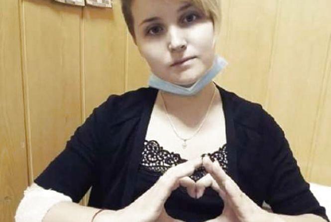 21-річна Люда Овсійчук, отримує другу хімію. Їй знову потрібна допомога