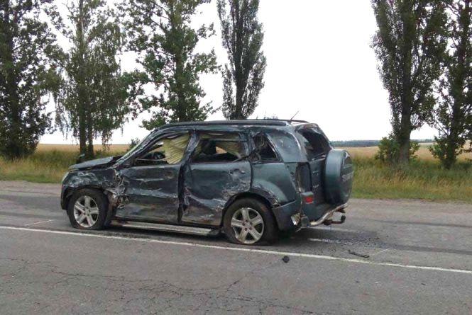Смертельна ДТП: вантажівка врізалась у позашляховик «Suzuki». Загинула дитина