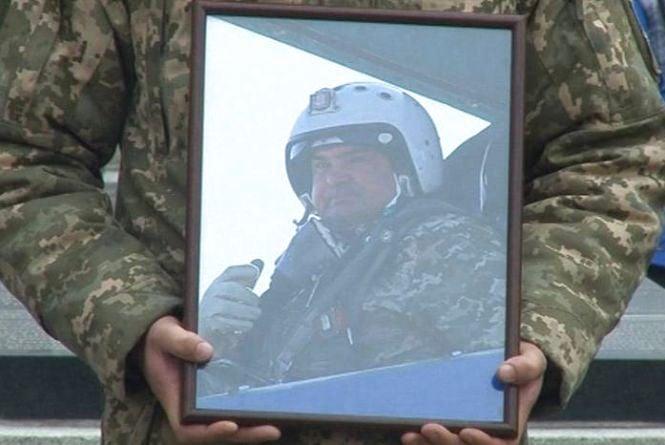 Катастрофа СУ-27: поховали льотчика Івана Петренка, який загинув біля Уланова