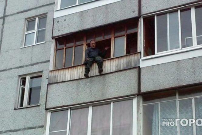 Вінничанин звісив ноги з балкону на п'ятому поверсі: як рятували самогубцю