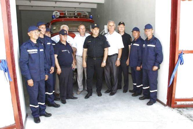 Самі собі рятувальники. У області працює місцева пожежна команда