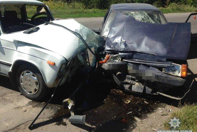 Лобове зіткення автівок біля Тульчину: Двоє дітей постраждали