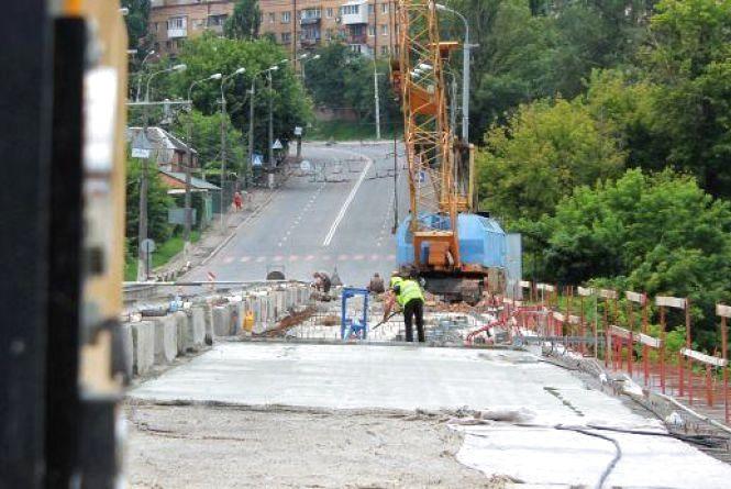 Через п'ять днів перекриють Київський міст. Будуть асфальтувати дорогу