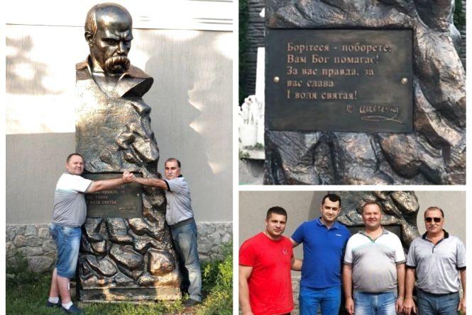 Тарас  у… гаражі. Скандал з пам'ятником Шевченку у Бершаді