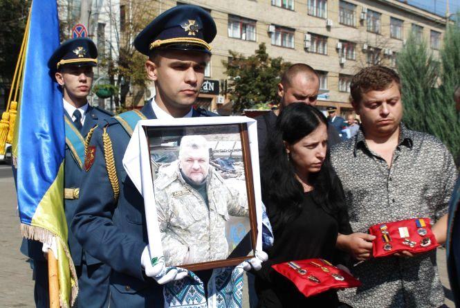 Поки у Вінниці прощалися з  Белінським, на Донбасі контузило ще одного вінничанина