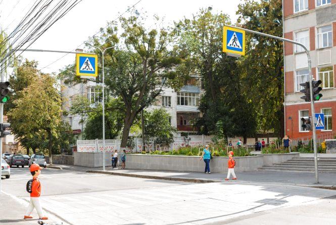 Бюджет громадських ініціатив: біля школи №4 підняли пішохідний перехід