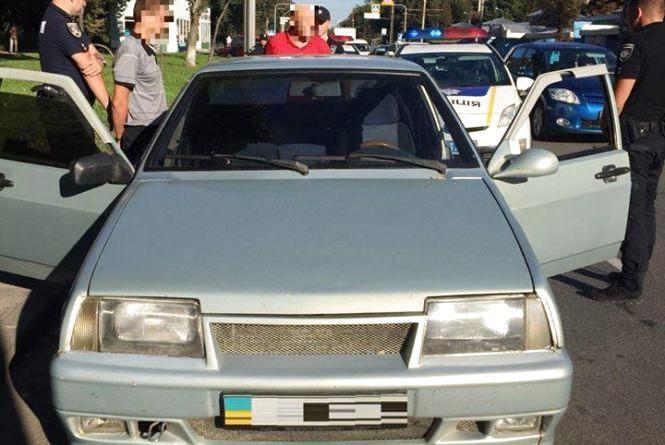 План-перехват у Вінниці: зловили гастролерів, які обкрадали автівки