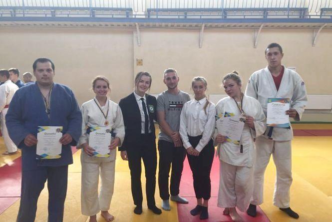 Cтуденти Вінницького педуніверситету – серед лідерів чемпіонату області з дзюдо