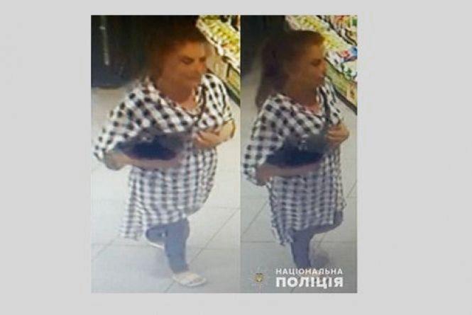 Поліція шукає жінку, яку підозрюють у крадіжці. Допоможіть її розшукати
