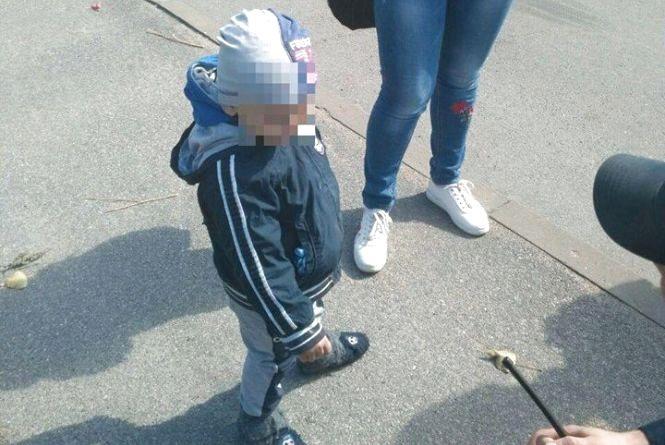 На Гонти мати шукала трирічного сина, який від неї втік