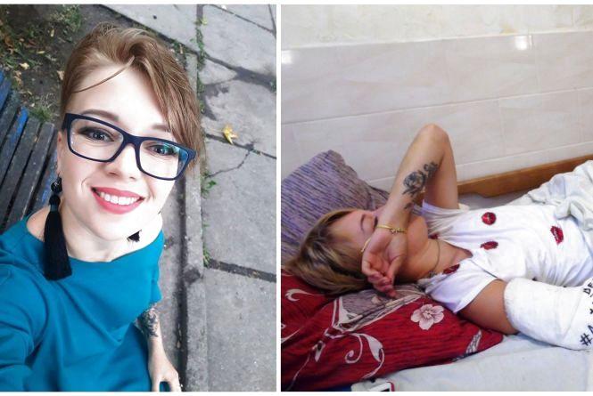 Напав наркоман? Олену мало не вбили під під'їздом на Пирогова, а свідків немає