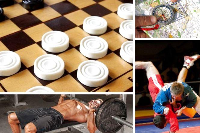 Анонси спортивного тижня: шашки, спортивне орієнтування, жим лежачи, самбо