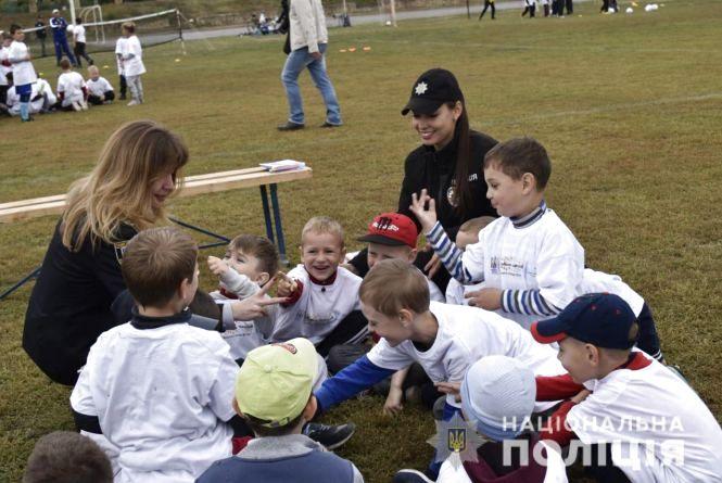 Більше сотні дітей взяли участь у фестивалі «Open fan football schools»