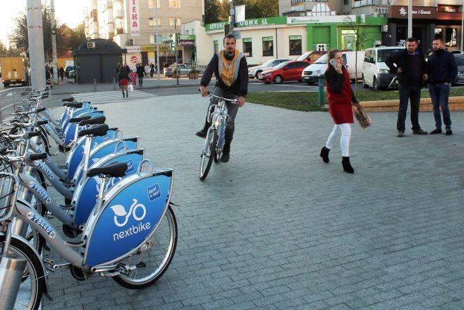 Запустили велопрокат 24/7: nextbike почав працювати у Вінниці