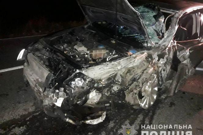 П'ятеро травмованих. У Жмеринському районі зіткнулись Audi та Renault