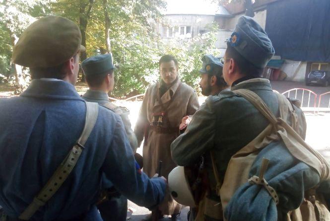 У Центральному парку готуються до боїв часів УНР