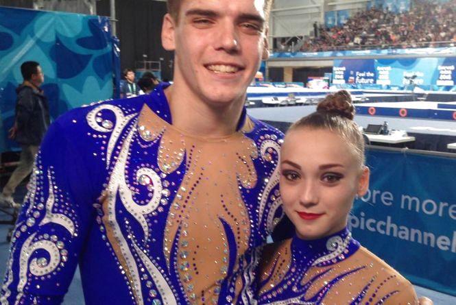 Вінницькі акробати вибороли бронзу на Олімпіаді у Буенос-Айресі