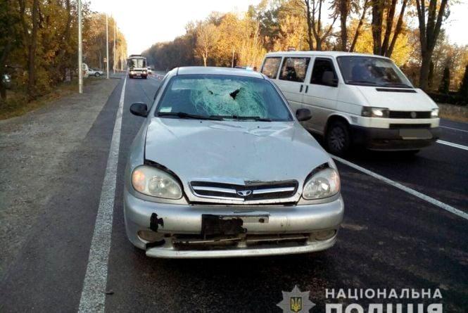 Не встиг загальмувати: під Вінницею на переході водій Daewoo насмерть збив чоловіка