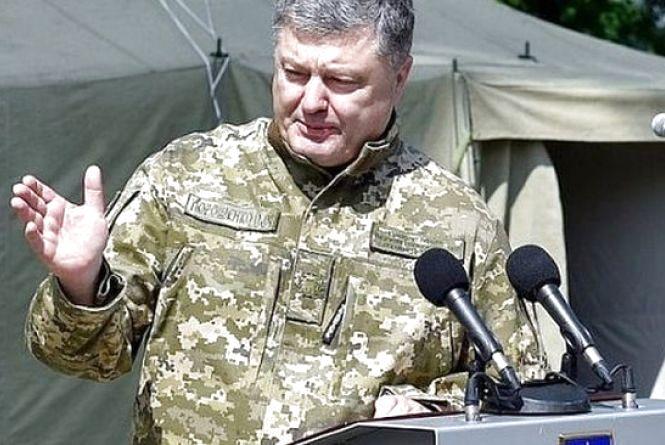 Порошенко пообіцяв підняти військовим зарплату до 21 тисячі гривень