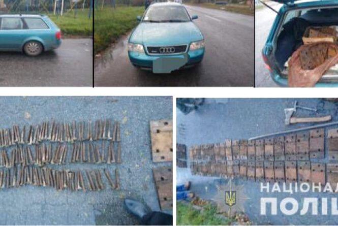 Неповнолітній та його три товариша вкрали колії на 12 тисяч гривень