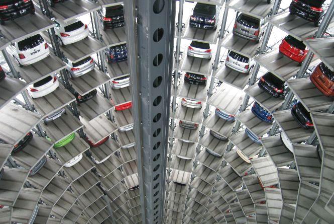 У Центрі планують збудувати паркінг. Він буде у п'ятиповерховому будинку