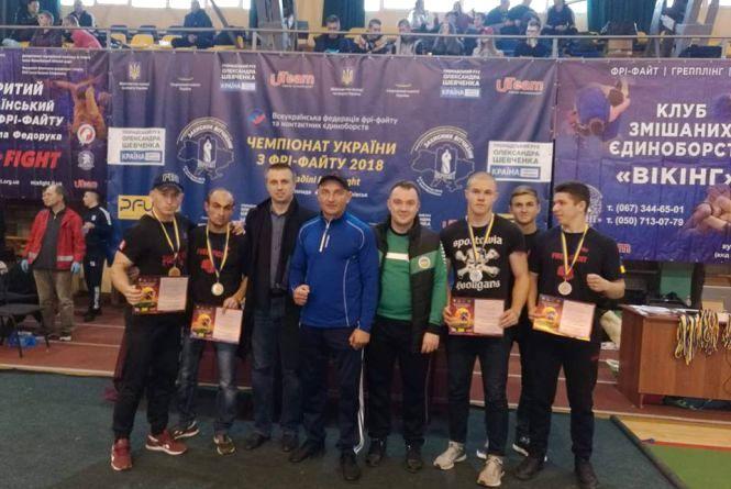 Фрі-файтери Вінниці здобули чотири медалі на чемпіонаті України