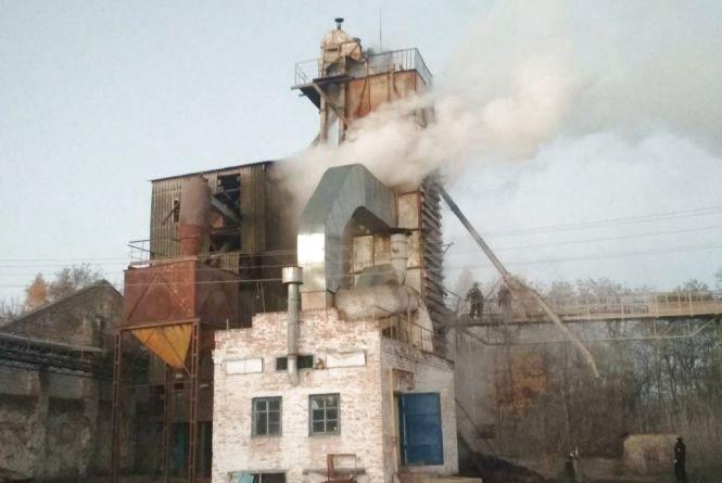 У Погребищенському районі вогонь знищив 20 тонн кукурудзи
