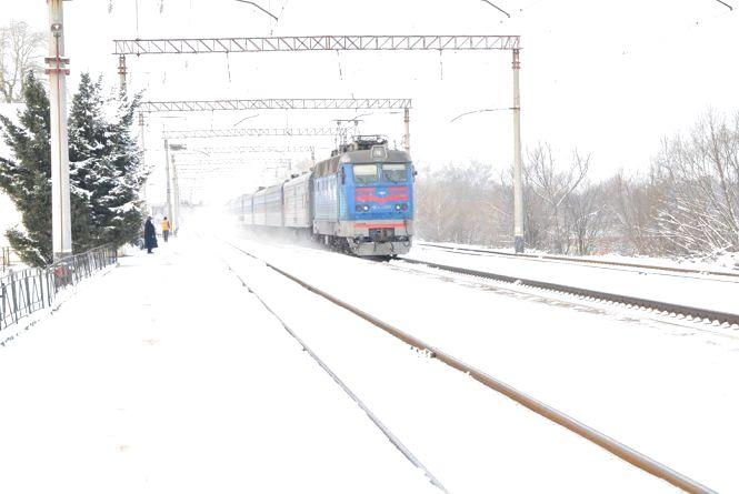 Як вплинув перший сніг на графік руху поїздів?