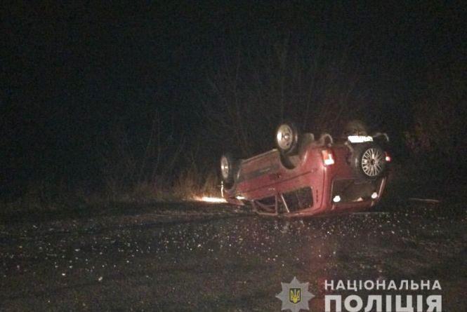 П'яна ДТП: водій «ВАЗу» збив велосипедиста та врізався у «Хонду»