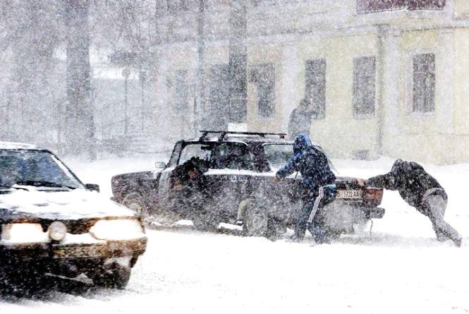 Снігопади, заметіль та мороз: синоптики розповіли про погоду на тиждень (КАРТА)