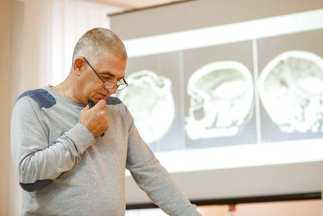 Для вінницьких неврологів та реаніматологів колеги з Італії провели майстер-клас