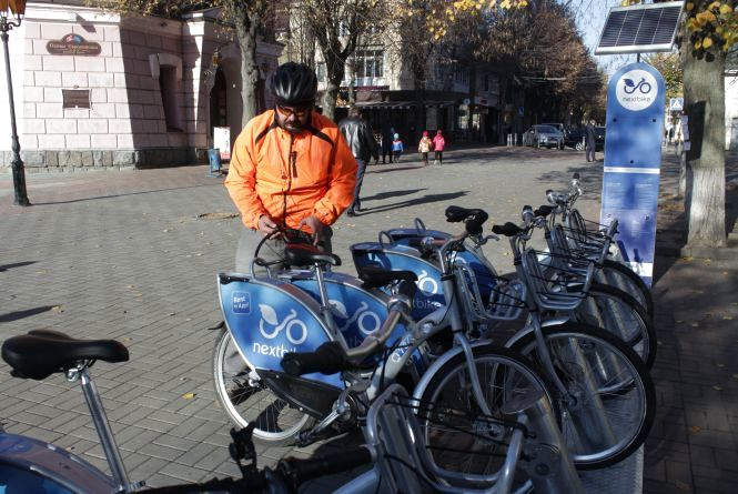У Nextbike підбили підсумки сезону: більше 8000 оренд велосипедів