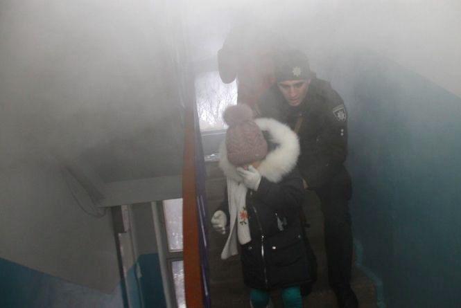 На Чорновола горіла квартира. Мешканців будинку евакуювали