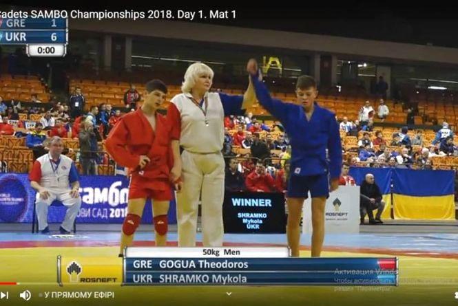 Вінницькі самбісти стали призерами чемпіонату світу у Сербії