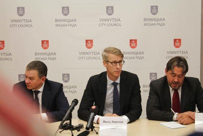 До Вінниці приїхав представник МВФ. Хоче оцінити роботу місцевої влади