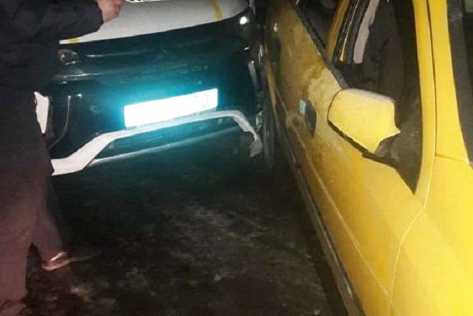 П'яний водій влаштував перегони з поліцією. Як результат - побите службове авто