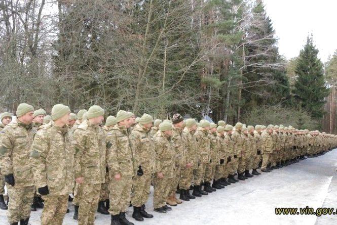 На навчальні збори з Козятинського району вирушили майже 300 резервістів
