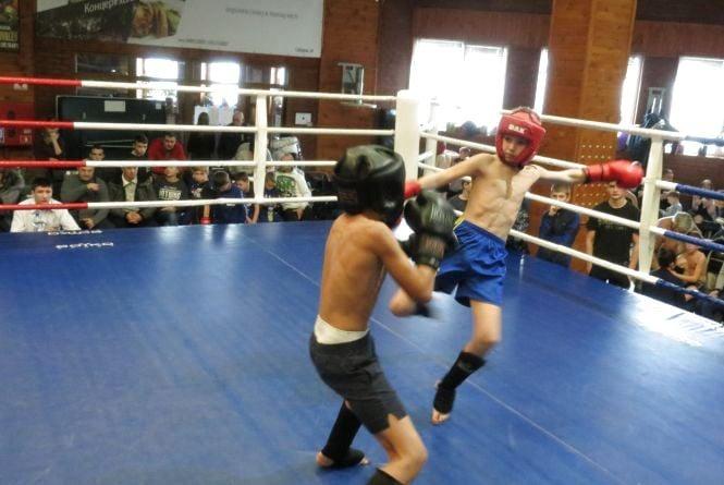На відкритому Кубку Вінниці із кікбоксингу і К-1 домінували бійці з районів