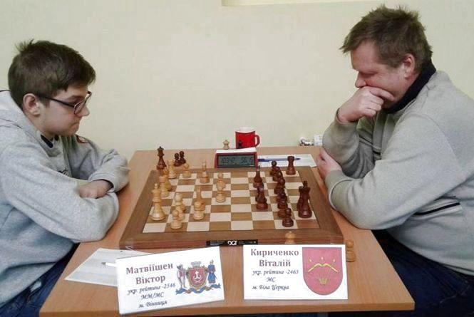 Віце-чемпіон світу з шахів Віктор Матвіїшен розділив першість на домашньому меморіалі Федора Богатирчука