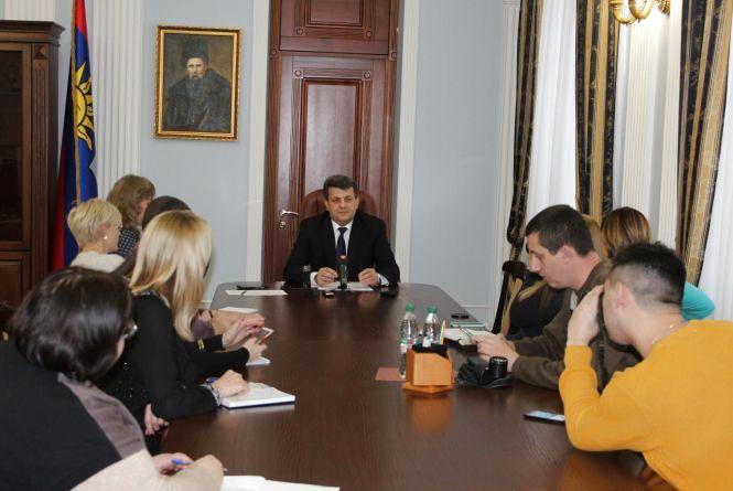 1112 днів на посаді: голова обласної Ради відповів на запитання вінницьких журналістів (Прес-служба Вінницької обласної Ради)