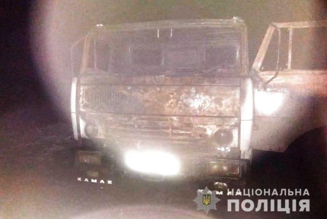 В Іллінецькому районі горів «КАМАЗ». Водій загинув, пасажир отримав опіки
