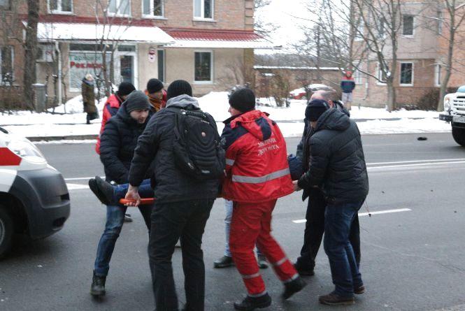 «Капці відлетіли на двадцять метрів»: збили хлопця на Магістратській