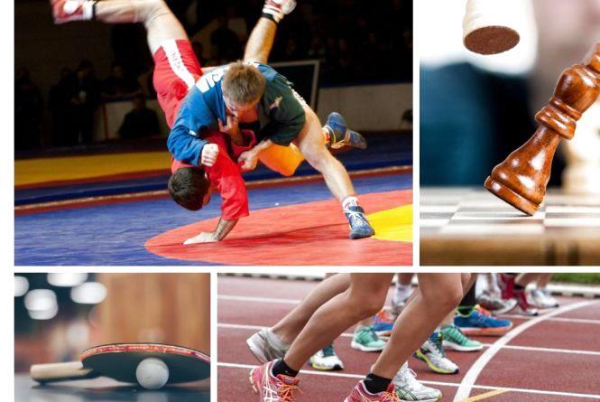 Анонси спортивного тижня: легка атлетика, самбо, настільний теніс, шахи