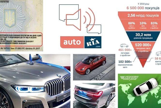 Розв'язка історії з техпаспортами, шпигунські фото BMW 7 та як виглядає український авторинок: огляд автоновин