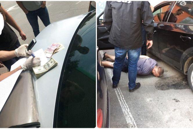 Звільнили прокурора, якого разом із водієм упіймали на хабарі у 6000 доларів